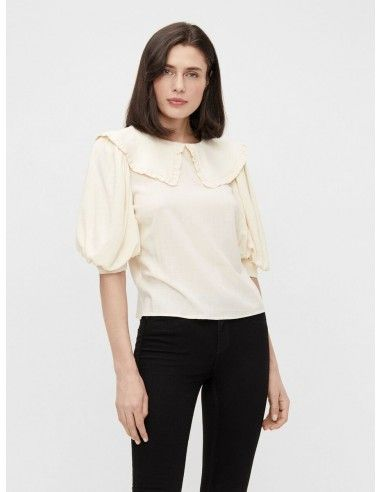 Blusa cuello Peter Pan, OBJECT